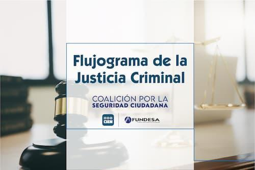 FLUJOGRAMA DE LA JUSTICIA CRIMINAL